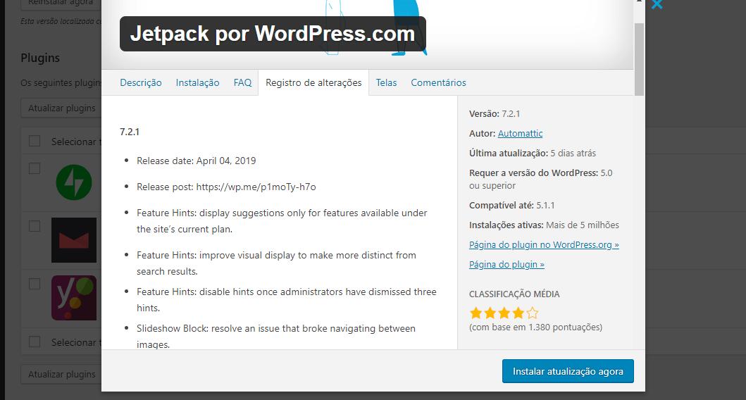 Atualizações no WordPress: Quais cuidados devemos tomar?